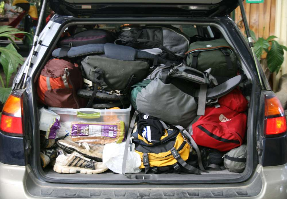 Can I Ship My Vehicle With Stuff In The Car Auto