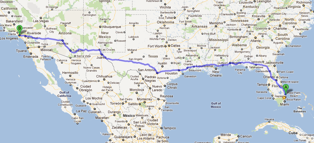 Auto transport from west palm beach fl to los angeles ca for Port motors west palm beach